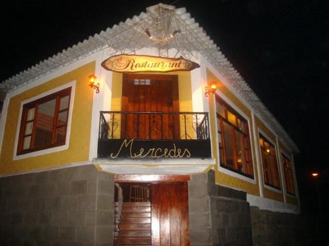 Mercedes Restaurant - Baños Ecuador
